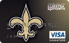 New Orleans Saints Extra Points Credit Card