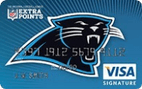 Carolina Panthers Extra Points Credit Card