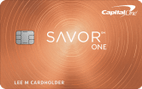 Capital One SavorOne Cash Rewards Credit Card