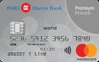 BMO Harris Bank Premium Rewards Mastercard®