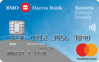 BMO Harris Bank Business Platinum Rewards MasterCard®
