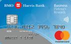 BMO Harris Bank Business Platinum Rewards Mastercard® Credit Card