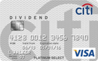 Citi® Dividend Platinum Select® MasterCard®