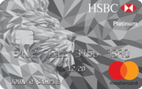 HSBC Platinum MasterCard® credit card