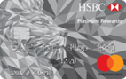 HSBC Platinum MasterCard® with Rewards credit card