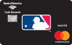 MLB™ Cash Rewards Mastercard® from Bank of America