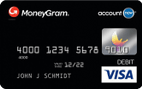MoneyGram<sup>&#174;</sup> AccountNow<sup>&#174;</sup> Prepaid Visa<sup>&#174;</sup> Debit Card