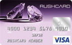Prepaid Visa® Purple Diamond RushCard
