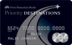 Priority Destinations® World Elite MasterCard®
