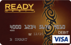 READYdebit<sup>&#174;</sup> Visa Latte Control Prepaid Card