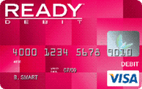 READYdebit® Visa Prepaid Card
