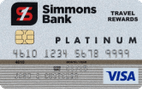 Simmons Bank Visa® Platinum Rewards