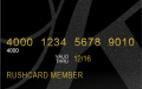 Suede KLS Prepaid Visa® RushCard Card Signup