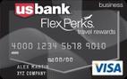 U.S. Bank FlexPerks® Business Travel Rewards Visa® Card