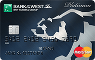 Bank of the West Platinum Mastercard®