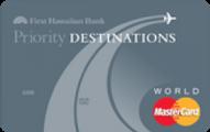Priority Destinations® World MasterCard®