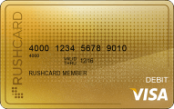 24k Prepaid Visa RushCard Application
