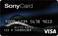 Sony Card from Capital One