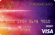 Sequin KLS Prepaid Visa® RushCard