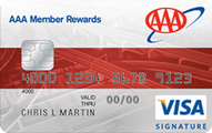 AAA Member Rewards Visa Credit Card Application