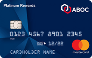ABOC Platinum Rewards Credit Card Application