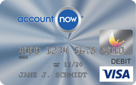 AccountNow Prepaid Visa Card Offer