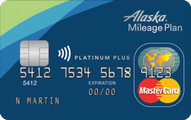 Alaska Airlines MasterCard® credit card
