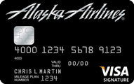 Alaska Airlines Visa Signature card Application