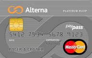 The Alterna Platinum Plus MasterCard® Credit Card