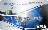 Zions Bank AmaZing Cash Credit Card Offer