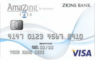 Zions Bank AmaZing Rate Credit Card