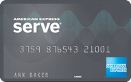 American Express Serve Cash Back application