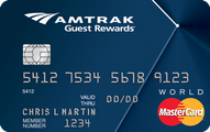 Amtrak Guest Rewards World MasterCard Application