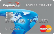 Capital One® Aspire Travel™ Platinum MasterCard®