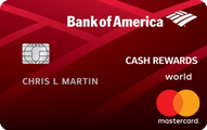 Bank of America® Cash Rewards Credit Card Application