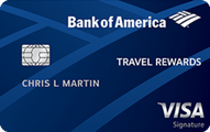 Bank of America Travel Rewards Credit Card Application