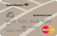 BankAmericard Credit Card Application