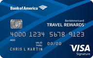 BankAmericard Travel Rewards® Credit Card Application