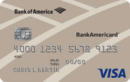 BankAmericard Visa Card Application