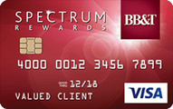 BB&T Spectrum Rewards credit card review