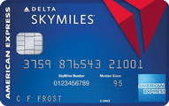 Blue Delta SkyMiles Credit Card from American Express Application