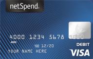 Blue NetSpend Visa Prepaid Card Application