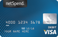 Blue NetSpend Visa Prepaid Card Application