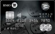 BMO® AIR MILES®† World Elite®* MasterCard®*