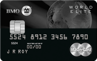 BMO® World Elite™ MasterCard®*