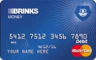 Brink's Money Prepaid MasterCard Application
