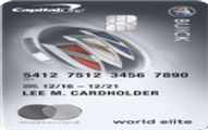 Buick BuyPower Card from Capital One®