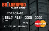 BuilderPro FleetCard Mastercard Application