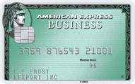 Business Green Rewards Card from American Express OPEN Application