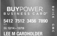 BuyPower Business Card from Capital One Application
